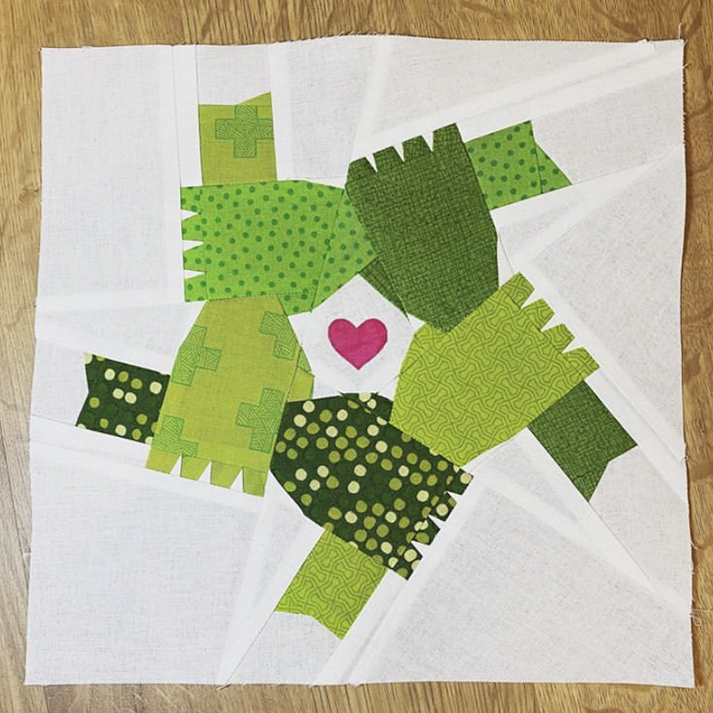 holding hands quilt blcok pattern, BLM fundraiser pattern, we stand together, quilters against racism